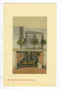Kitchen Fire Place, Mount Vernon Virginia, 00-10s