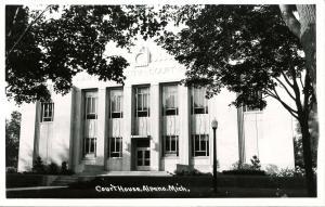 MI - Alpena. Courthouse - RPPC