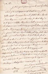 Edinburgh 1764 Medieval Calligraphy Full Hand Scottish Debt Letter