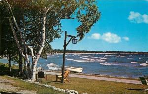 Sturgeon Bay Wisconsin~View From Glidden Lodge~1963