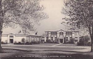 N. Y. S. Institute Of Applied Arts & Sciences, Utica, New  York, 1910-1920s