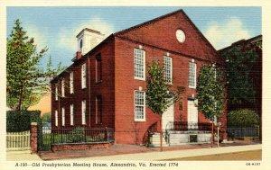 VA - Alexandria. Old Presbyterian Meeting House