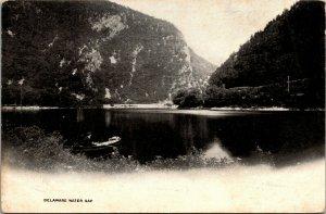 Bushkill FALLS Pennsylvania pa postcard - DELAWARE WATER GAP