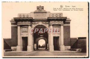 Old Postcard Ypres Menin Gate Memorial British Army hero