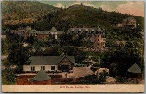 Manitou, Colorado Postcard CLIFF HOUSE Hotel / Panorama View c1910s Unused