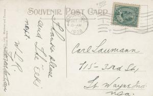 TORONTO, Ontario, PU-1908; Harbord Collegiate Institute: Version-2