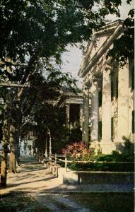 MA - Nantucket. Colonial Mansions