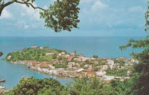 Aerial View, Spice Islands, ST. GEORGE, Grenada, 40-60's