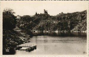 CPA CROZANT Les Ruines la Creuse et l'Embarcadere (1143615)