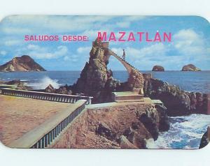 Pre-1980 OBSERVATORY ON CLAUSSEN BOULEVARD Mazatlan - Sinaloa Mexico F5852