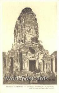 Ruines D'Angkor Cambodia, Cambodge Le Bayon, Sanctuaire sur la plate forme Ru...