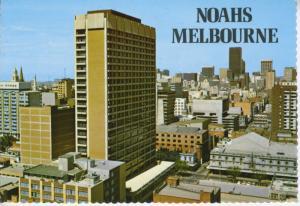 Noahs Hotel Melbourne Australia CNR Exhibition & Little Bourke Postcard D24