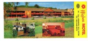 Highbea Motel, Lebanon, New Hampshire