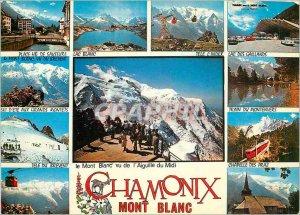 Modern Postcard Chamonix Mont Blanc (Haute Savoie) 1037 has 4807m