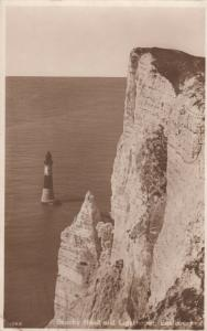 RP; EASTBOURNE, Sussex, England, UK, 1920-1940s; Beachy Head and Lighthouse # 2