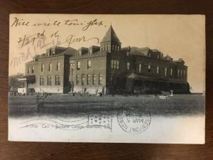 1906 Carr-Burdette College, Sherman, Texas TX d19