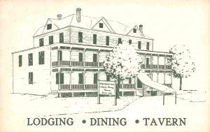 Highland Inn Hotel Monterey Virginia postcard