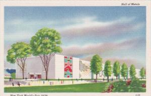 New York World's Fair 1939 Hall Of Metals