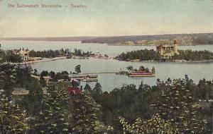 The Saltseabath Stockholm, Sweden, 1900-1910s