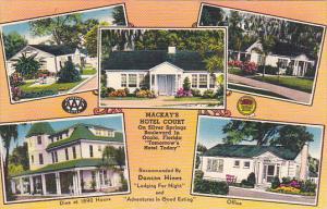 Florida Ocala MacKay's Hotel Court