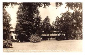 Mammoth Cave Park Kentucky Hotel Real Photo Antique Postcard K61117