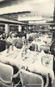 P.&O. Himalaya, First class dining saloon Ship Interiors, Unused