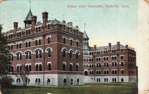 Kissam Hall, Vanderbilt, Nashville, Tennessee, PU-1909