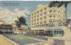 Forida Miami Beach The Tatem Surf Club Swimming Pool Curteich