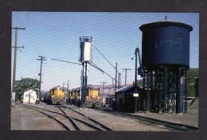 WA Union Pacific Railroad Train AYER JUNCTION WASHINGTON State Postcard