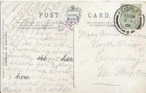 Genealogy Postcard - Brown - North View - Cononley - Skipton - Ref  3580A