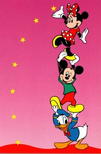 Disney Mickey Mouse Minnie Mouse and Donald Duck