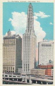 CHICAGO, Illinois, 1910-20s; Mather Tower, 75 E. Wacker Drive