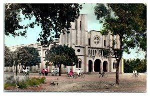 RPPC La Cathedrale, Ouagadougou, Burkina Faso Postcard *6V(4)5