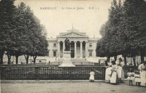 CPA Marseille Le Palais de Justice (66753)