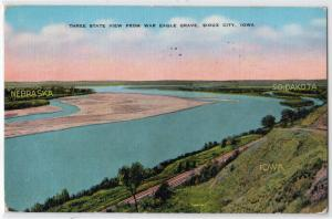 Three State View, Eagle Grave, Sioux City IA