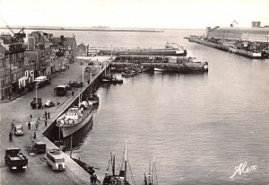 Panorama sur l'Avant Port Cherbourg France Unused