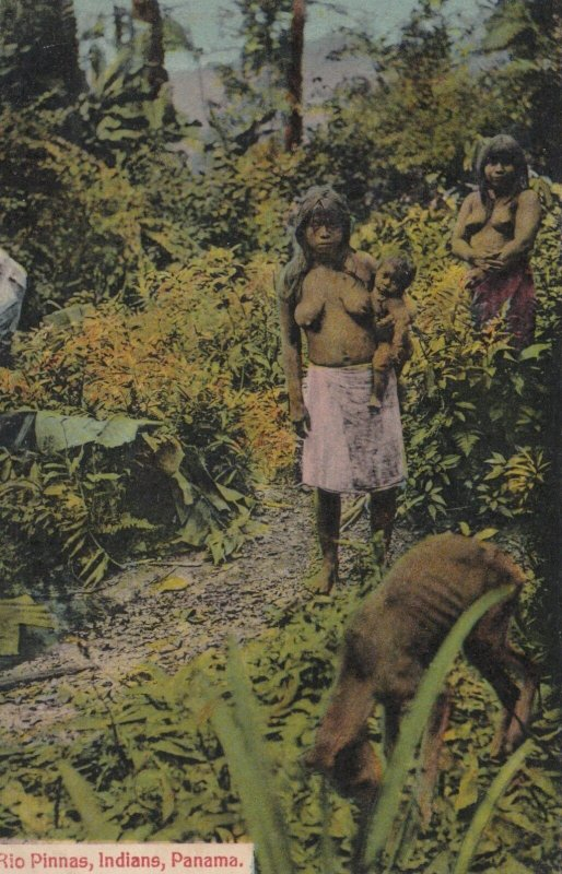 Panama Rio Pinnas Indian Women Naked Topless sk1616a