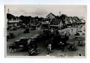 126612 INDONESIA Pasar Senen DJAKARTA Vintage photo postcard