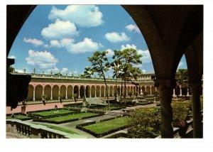 Courtyard, Loggia, Ringling Museum, Sarasota, Florida