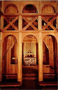Postcard SD South Dakota Rapid City Slave Church Interior Unposted