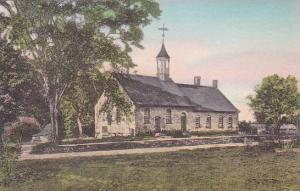 North Carolina Oldtown Bethabara Moravian Church Albertype