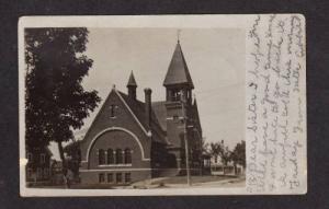 ME Congo Church MADISON MAINE POSTCARD PC 1905
