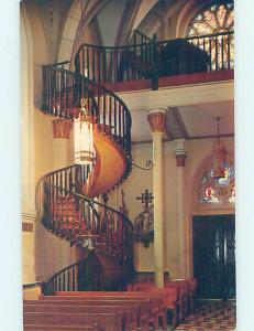 Pre-1980 CHURCH SCENE Santa Fe New Mexico NM AD0737-12