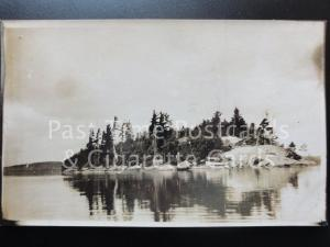 CANADA: Ignace, Small Island, Ontario Old Real Photograph Postcard