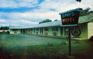NY - Clayton. Gray's Motel