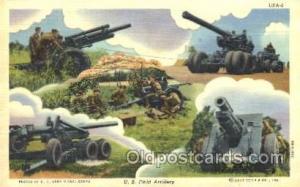 U.S. Field Artillery Military Postcard Postcards  U.S. Field Artillery