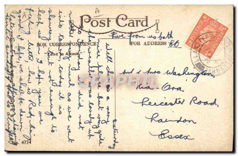 Old Postcard Fantasy Illustrator Child Pussy & # 39s Swallowed my Gold Fish G...
