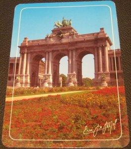 Belgium Brussel Les Arcades du Palais du Cinquantenaire - posted