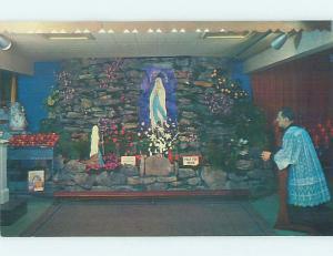 Pre-1980 CHURCH SCENE Shartlesville - Near Lebanon & Reading PA AD1475