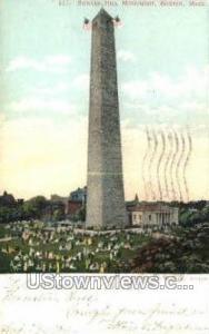 Bunker Hill Monument Boston MA 1905